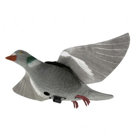 Tyvec Pigeon Hyper-Flap Decoy For Decoying Rotary Magnet Bouncer Floater